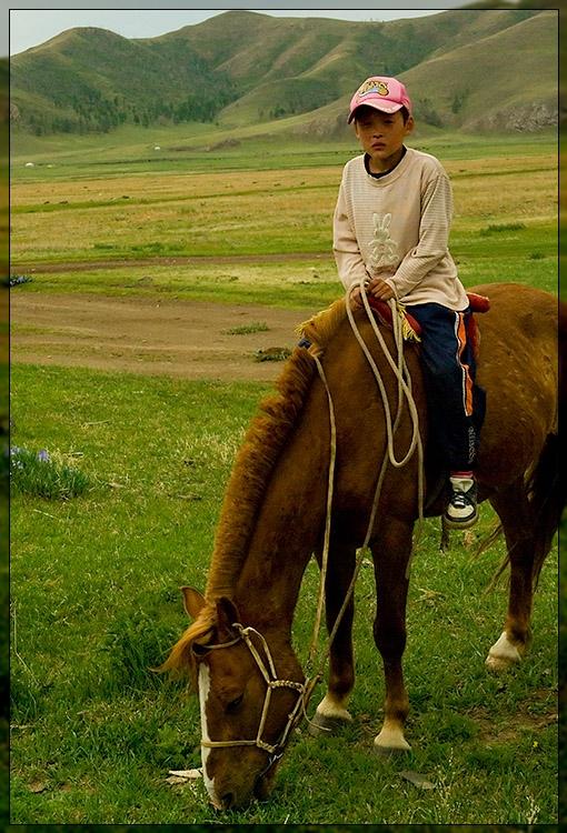 Amarbatasgalant Monastery - Kid