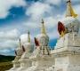 Amarbayasgalant Monastery - Stupas